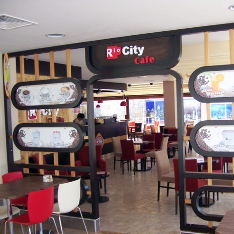 Rio City Cafe iç mekan görseller