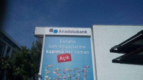 Anadolubank Adapazarı vinil germe