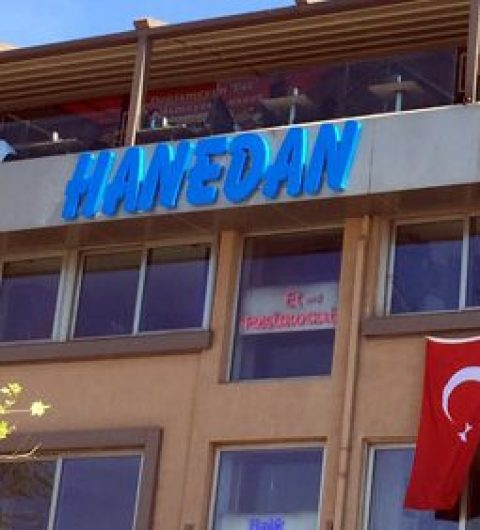 Beşiktaş Hanedan Restaurant Tabela
