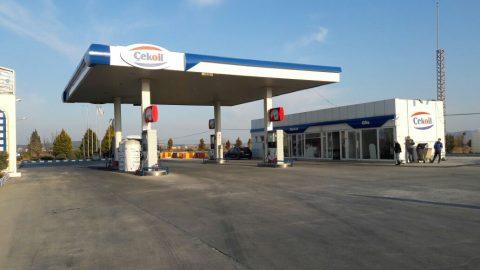 Çekoil Benzin istasyonu Kanopi , Tabela , Totem ve Yönlendirmeleri (Manisa Akhisar)