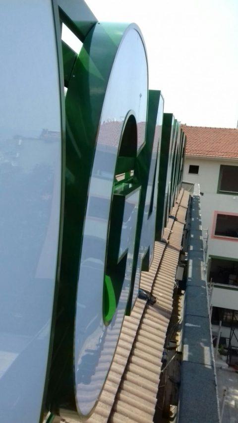 Çatı Tabelası Doğa Koleji