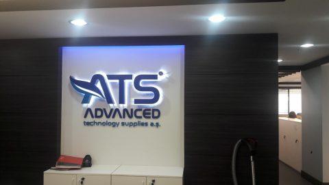 Banko arkası tabela ATS