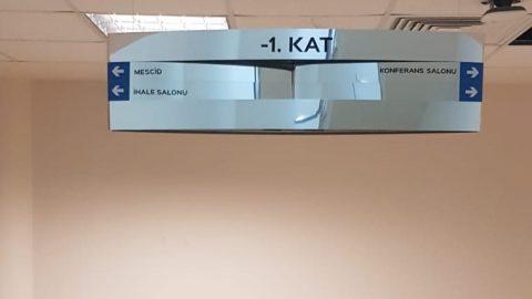 Yönlendirme ve Kapı İsimlikleri Teiaş 4. bölge Müdürlüğü