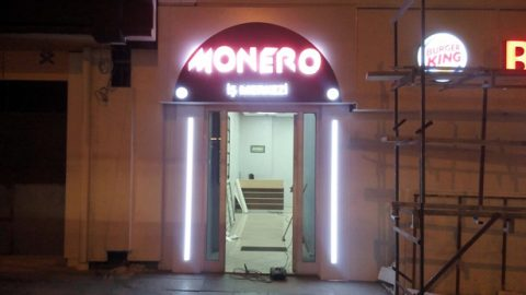 Monero İş Merkezi Tabela