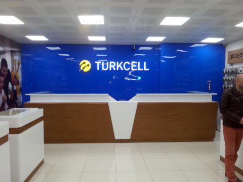 Turkcell Duvar Giydirme