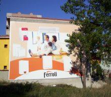 Ferroli vinil germe Cephe Giydirme