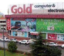 Gold Bilgisayar Cephe Vinil