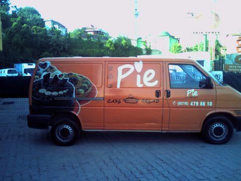Pie Cafe Araç Giydirme