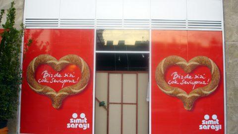 Simit Sarayı dijital baskı folyo