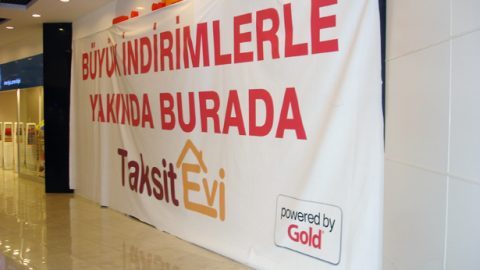 Afiş Dijital baskı Taksit evi